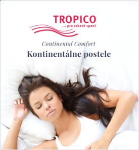 Tropico kontinentálné postele
