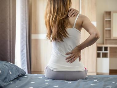 Bolesti zad v tehotenstvi Matrace Tropico