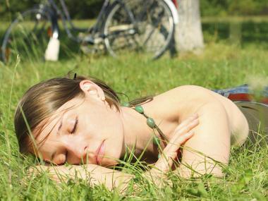 spanek v lete